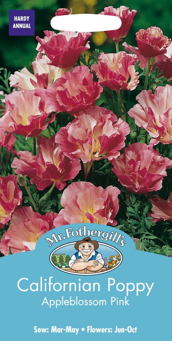 CALIFORNIAN POPPY Appleblossom Pink