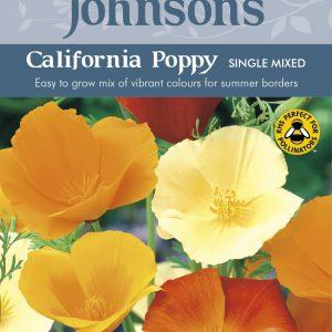 CALIFORNIA POPPY Single Mixed