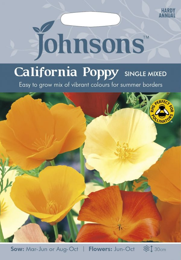 CALIFORNIA POPPY Single Mixed