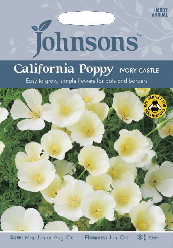 CALIFORNIA POPPY Ivory Castle