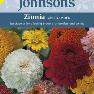 ZINNIA Cresto Mixed