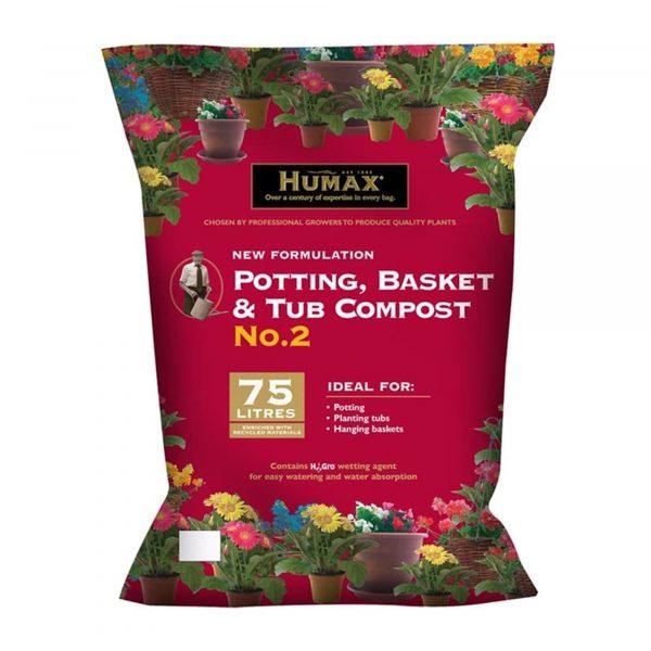 Humax Tub and Basket Compost