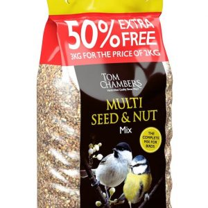 Multi Seed & Nut Mix - 50% FOC - 3kg