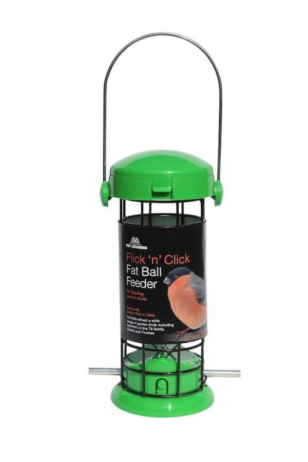 Flick 'n' Click Fat Ball Feeder