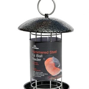 Hammered Steel Fat Ball Feeder