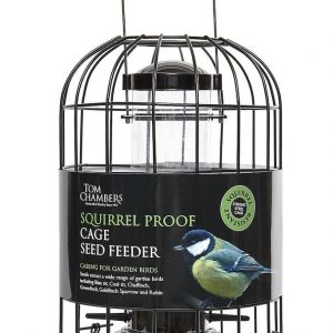 Squirrel Proof/Cage Seed Feeder