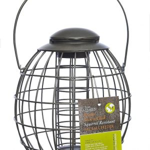 Pewter Flick 'n' Click Squirrel Resistant Fat Ball Feeder