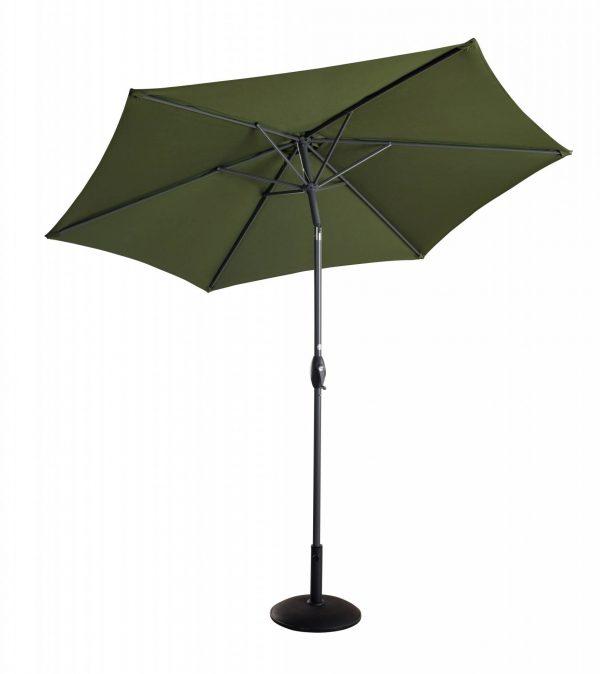 Balearic Market Parasol Extended Tilt Green