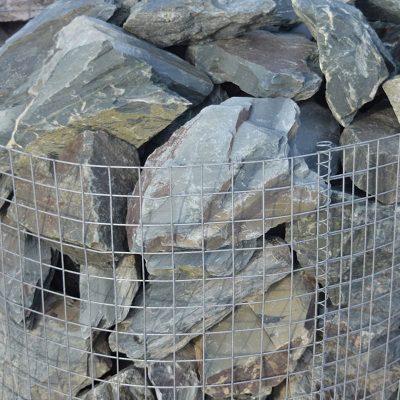 Green Slate Rockery Stone