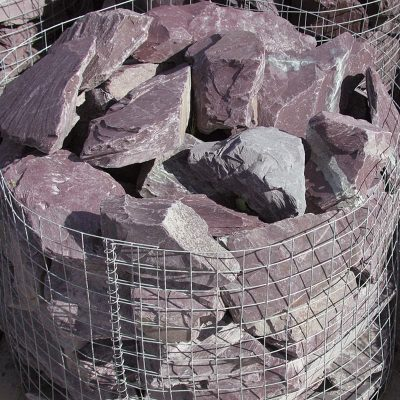 Plum Slate Rockery Stone